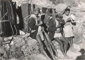 Himalayan coolies / porters