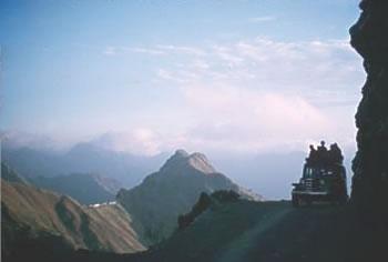 Tehri road east from Landour India