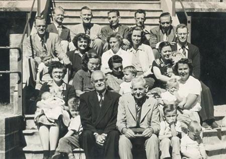 India TEAM missionaries, 1950s