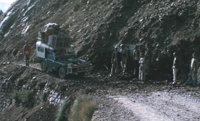 Jeep breakdown in India