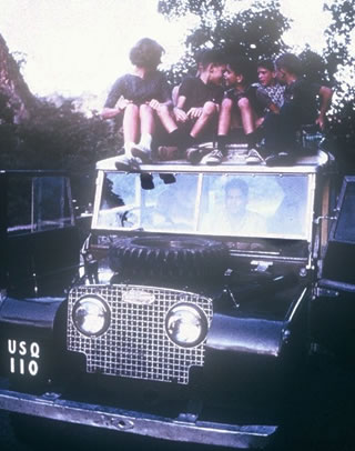 Maharajah's Jeep in India