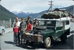 In 1965 Dad bought this '51 Land Rover from the Maharaja of Tehri Garwhal and we started taking trips around N. India in it. This was on a trip to Kashmir in 1966.