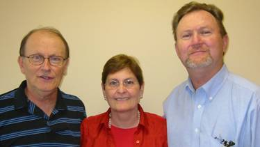 George Verwer, his wife Drena, and me (2004).
